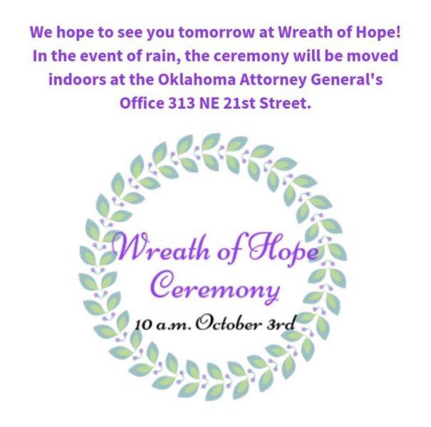 wreath of hope ceremony